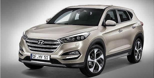 """""""Hyundai Tucson"""" jau žvalgosi Lietuvoje"""