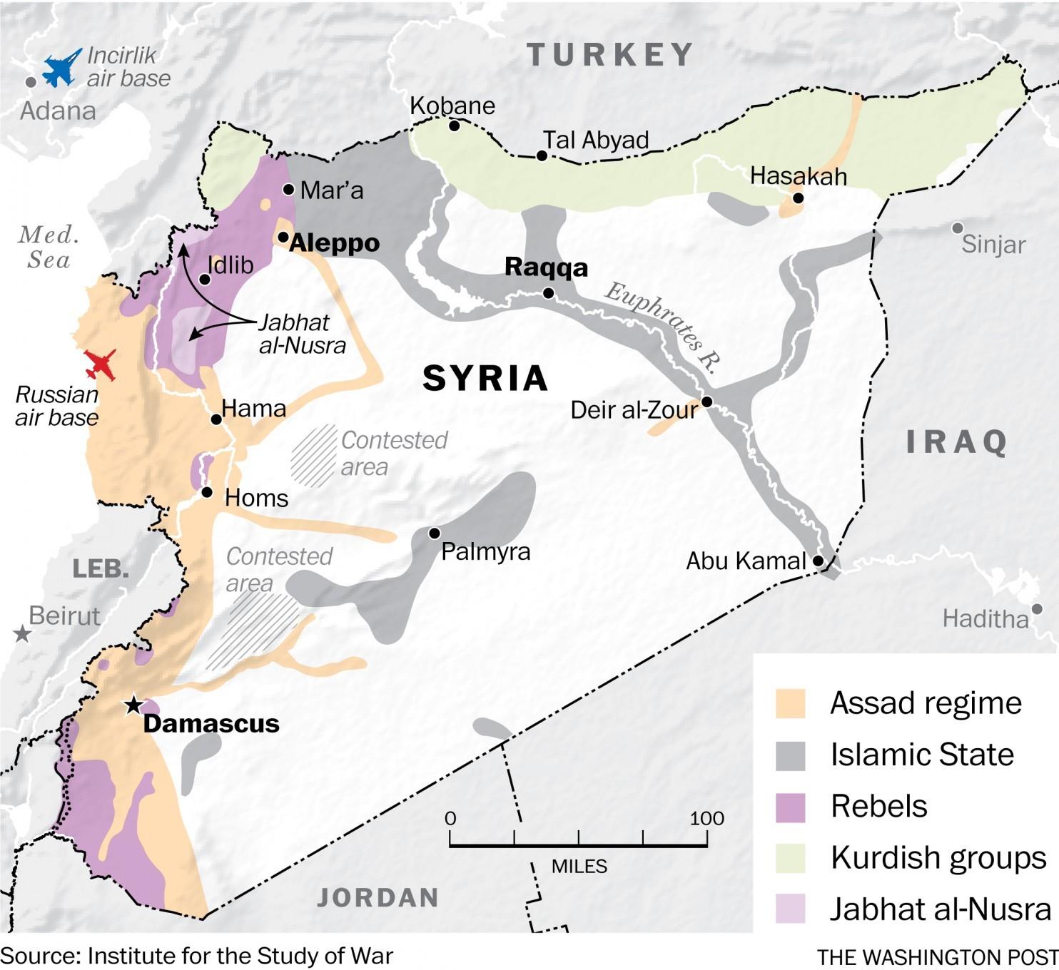 JAV pradeda savo invaziją Sirijoje