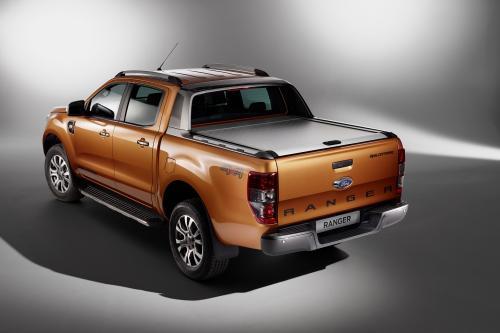 """Penkias žvaigždutes už saugumą nuraškęs """"Ford Ranger"""" pirmauja ir rinkoje"""