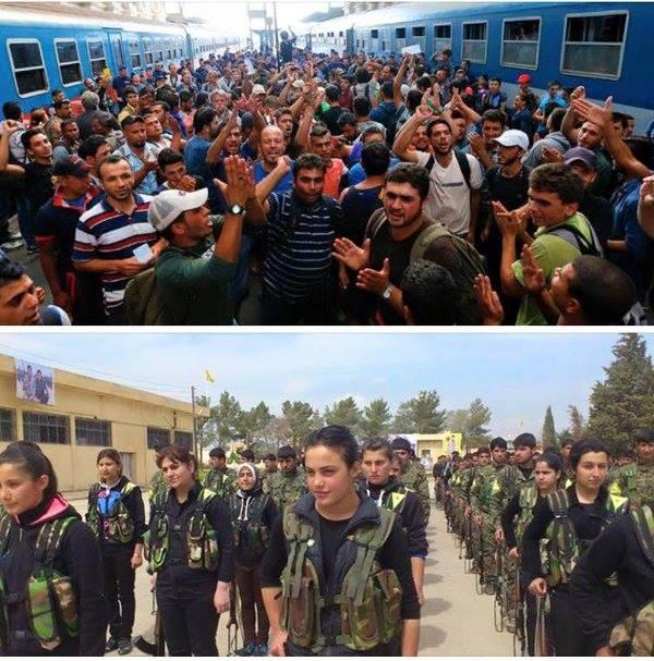 Sirijos dezertyrus reikia varyti namo