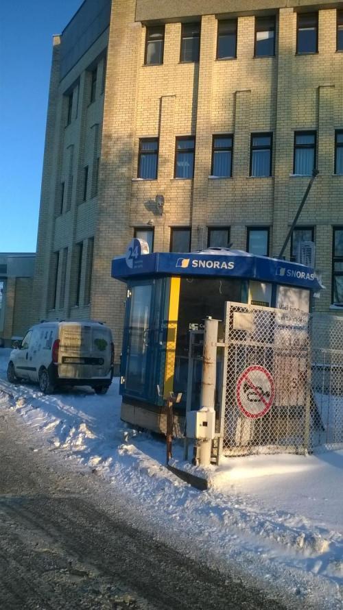 """Milijonus """"Snoro"""" bankui kainavę banko filialai naudojami kaip sargo būdelės"""