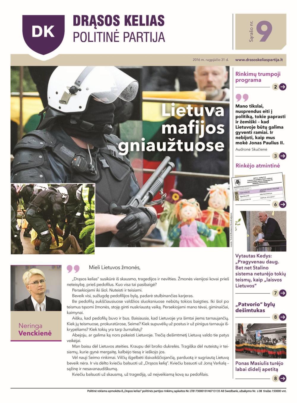 Lietuva mafijos gniaužtuose