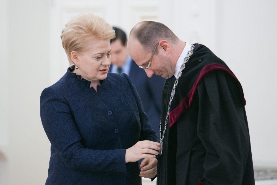 Dalia Grybauskaitė sukūrė mafijinę teismų ir prokuratūros sistemą