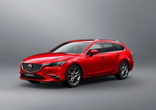 """2017 metų """"Mazda6"""" į Europą atveš """"SKYACTIV GVC"""" sistemą"""