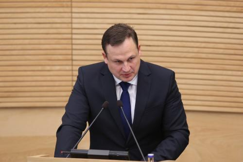 Generalinis prokuroras E.Pašilis : nusikaltimais įtariami prokurorai patys įvertina, ar jie padarė nusikaltimą