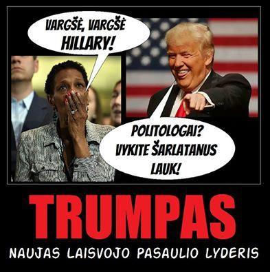 """Disidentas Valdas Anelauskas: """"Išrinkus 45-uoju JAV prezidentu Donaldą Trampą, tarsi """"vidurinysis pirštas"""" parodytas išsigimusios valdžios SISTEMAI!.."""""""