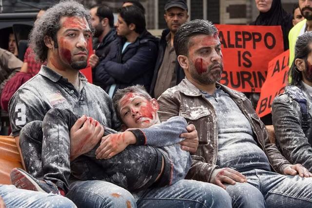 """Zigmas Vaišvila. """"Marionečių šou """"Sirijos Alepas"""", 2016-12-16"""