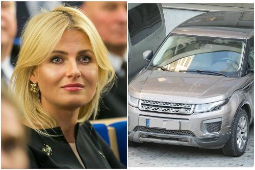 """Kokias paslaugas Greta Kilbišienė suteikė R.Karbauskiui už 40 tūkst. eurų vertės """"Range Rover""""?"""