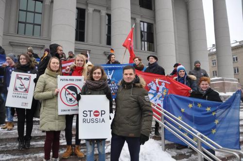 Vilniuje suimti Rusijos  žurnalistai