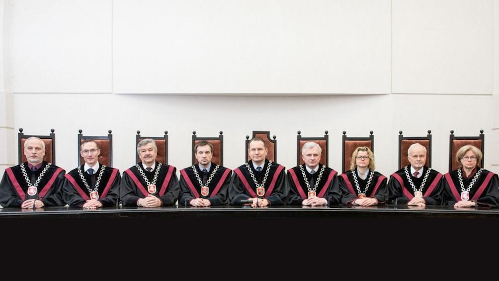 Konstituciniame teisme demaskuota organizuota grupuotė