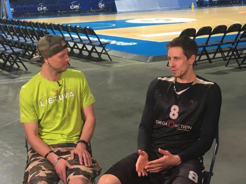 """Krepšininkas M. Lukauskis: """"Džiaugiuosi galėdamas žaisti savo gimtajame mieste"""""""