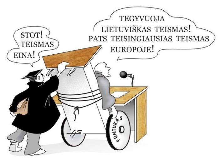 LIETUVIŠKAS TEISMAS