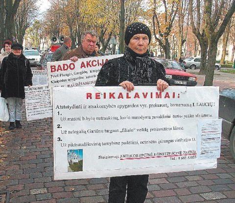"""72 metų amžiaus klaipėdietei Aldonai Tunik – baudžiamoji byla už frazę, kad """"teisėjai kabina makaronus"""""""