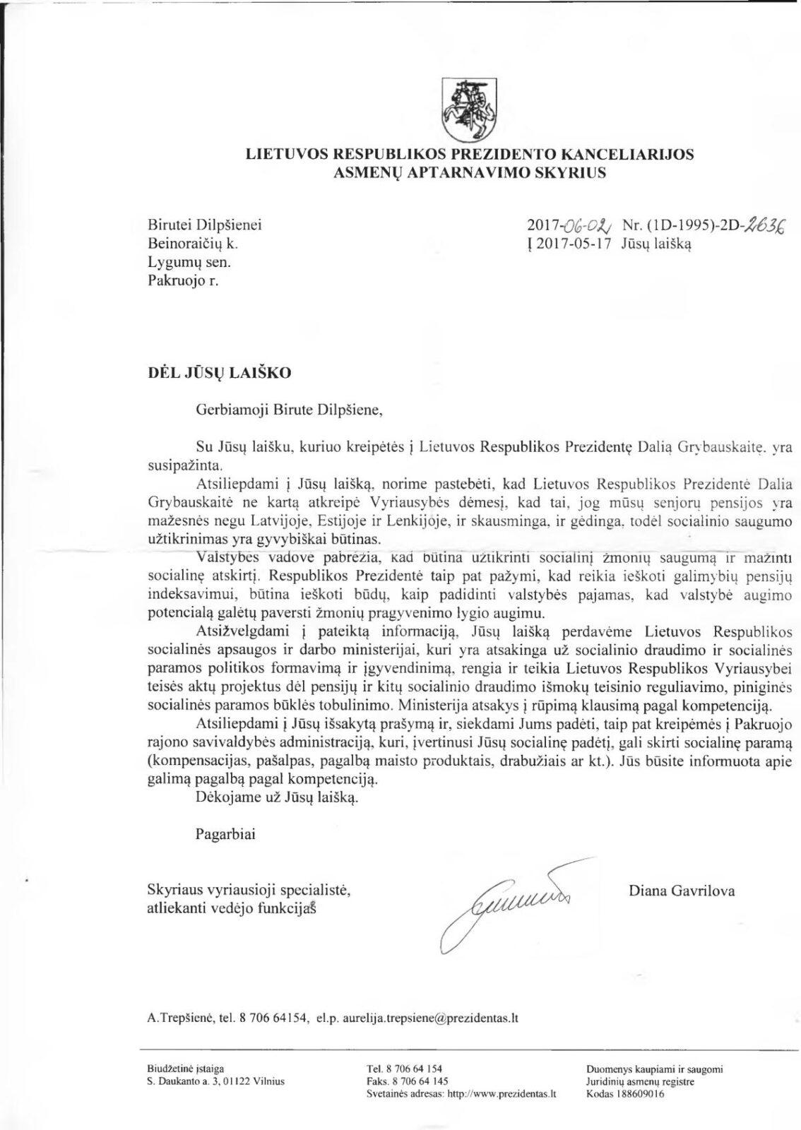 Gerb. Grybauskaite,