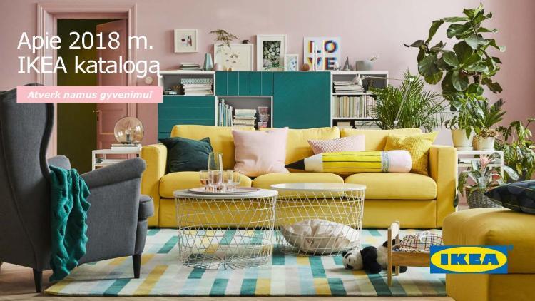 Naujasis IKEA katalogas kviečia atverti namus gyvenimui