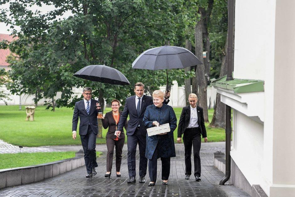 """Mėnesį prie prezidentūros badavę žmonės mano pasiekę savo tikslų – įrodyti, kad visai šiai mafijinei """"teisinei"""" sistemai vadovauja Dalia Grybauskaitė Polikarpovna"""