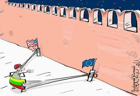 """Gelbėkis, kas gali: Grybauskaitė pratybų """"Zapad-2017"""" metu išskris į JAV"""