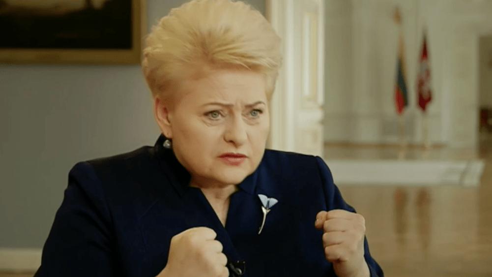 Kur yra Dalios Grybauskaitės melo ribos?
