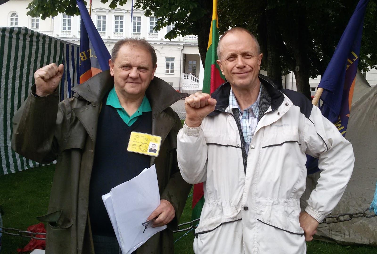 """Bado akcijos organizatorius D.Šulcas : """"Kai sušukome """"Gėda Grybauskaitei, tą pačią dieną buvo duotas įsakymas mus išvaikyti"""""""