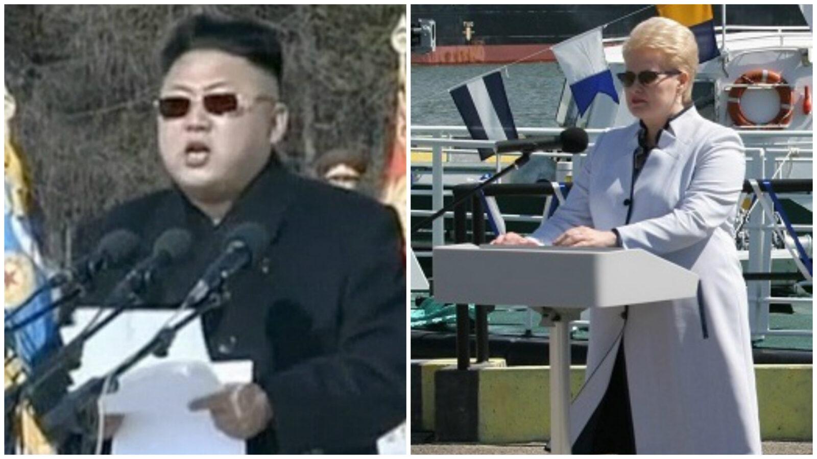 Lietuva vejasi Šiaurės Korėją