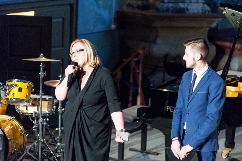 Nuotaikingą Grigiškių meno mokyklos mokytojų koncertą vainikavo Trijų Karalių apsilankymas