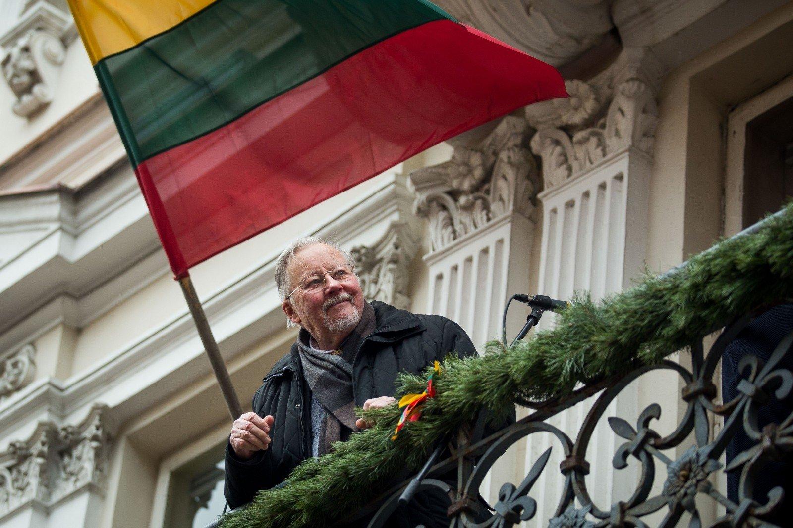 Vytautas Landsbergis išvardino Lietuvos vidaus priešus, o Thunberg lūpomis prabilo Dievas