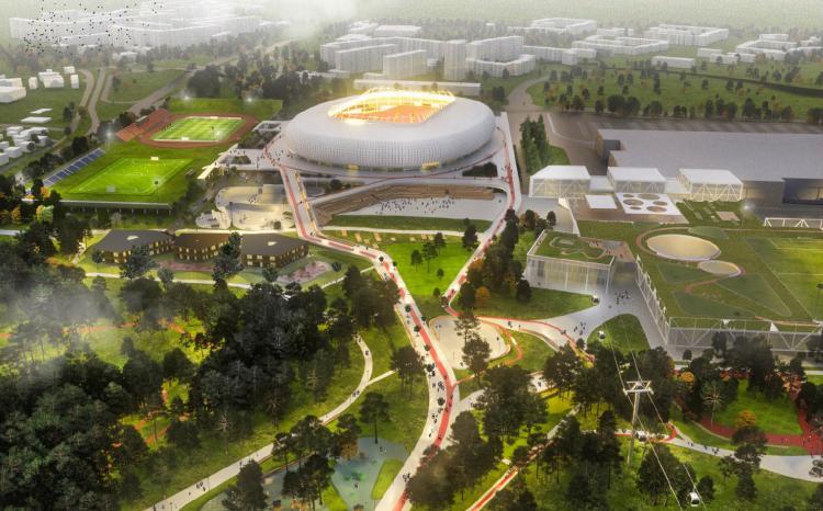 Vilniaus valdžia net nesvarsto pigesnio stadiono pasiūlymo