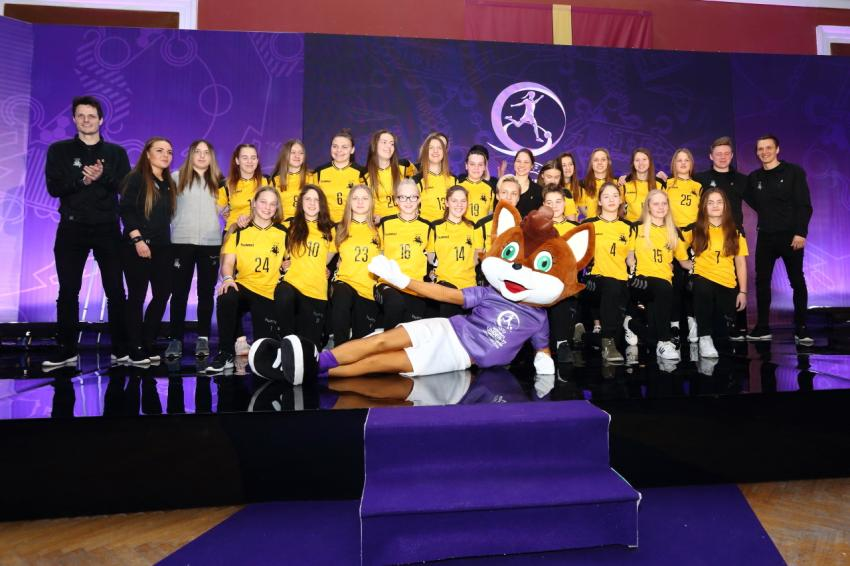 Pristatytas Lietuvoje vyksiantis Europos merginų futbolo čempionatas