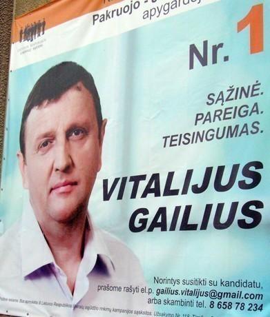 Vitalijus Gailius dalyvavo 20 mln. litų turto užgrobimo aferoje ?