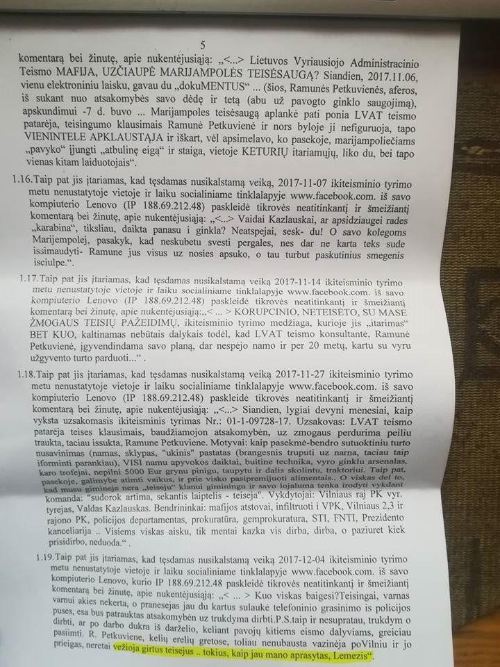 Teisėjas S.Lemežis nurodė suimti D.Petkų už tai, kad jis parašė viešai žinomą faktą – S.Lemežis yra girtuoklis