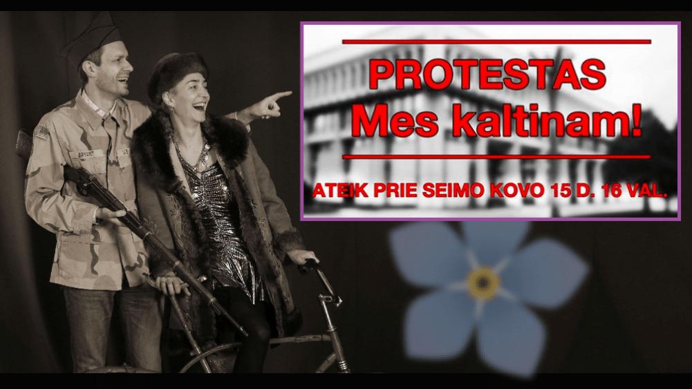 """Lietuva bunda – bręsta konservatorių revoliucija: """"Ateikite prie Parlamento! Ateina metas dėl jo kovoti dar kartą!"""""""