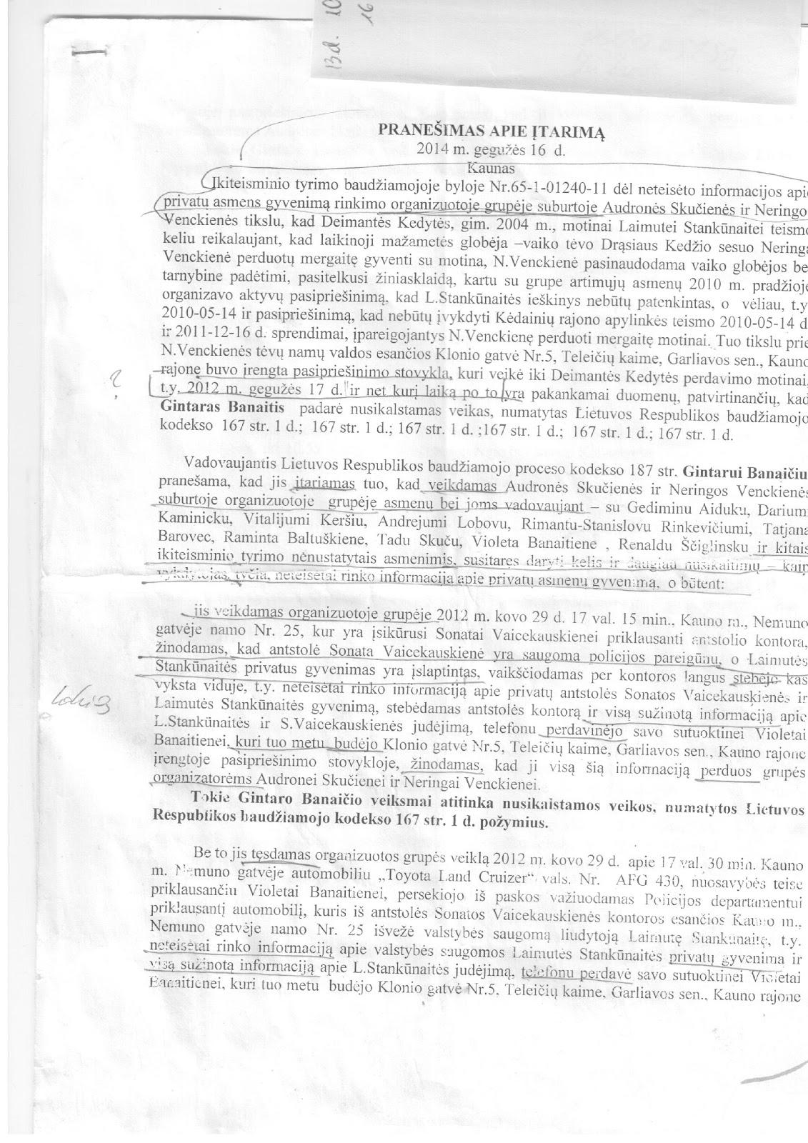 Pateikiami įrodymai, kaip prokuratūra suklastojo Garliavos gynėjų bylą