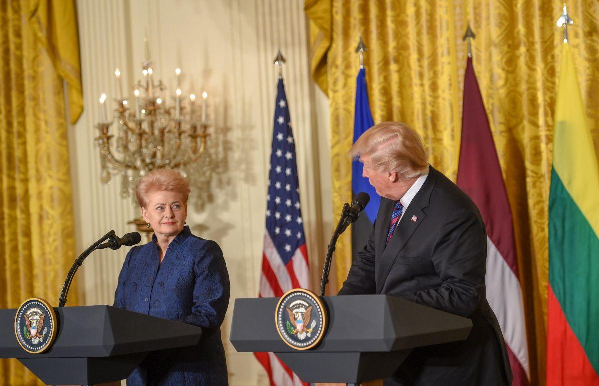 JAV tik 2021 m. išslaptins tikrąją Dalios Grybauskaitės biografiją