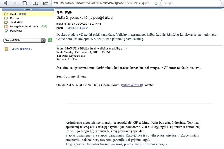 """D.Grybauskaitės 'skaliku"""" išvadintas T.Dapkus : """"Parlamentinį tyrimą dėl prezidentės jos prašymu """"užgesino"""" premjeras A.Butkevičius ir E.Masiulis"""""""