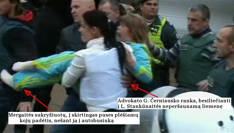 Pagal melagingus generalinės prokuratūros kaltinimus N.Venckienė jau penkis mėnesius laikoma Čikagos kalėjime