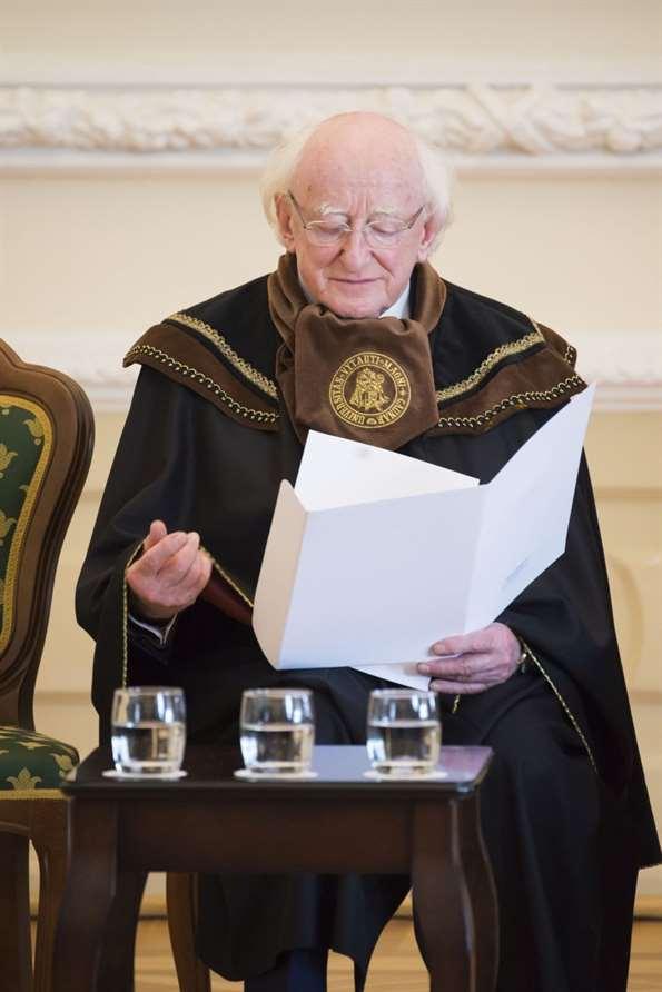 """Airijos prezidentas: """"Žemyno ateitis negali būti nulemta siaurų pašnekesių tarp galingiausiųjų"""""""