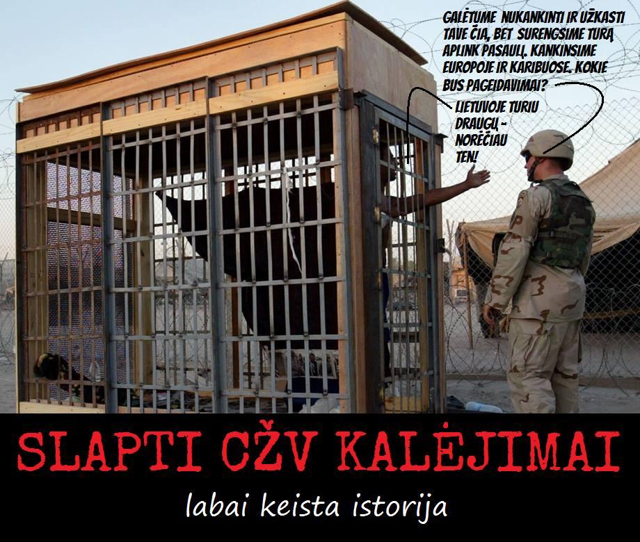 Slaptas CŽV kalėjimas Lietuvoje. Ar 130 tūkst. eurų bus išskaičiuoti iš V.Adamkaus prezidentinės pensijos?