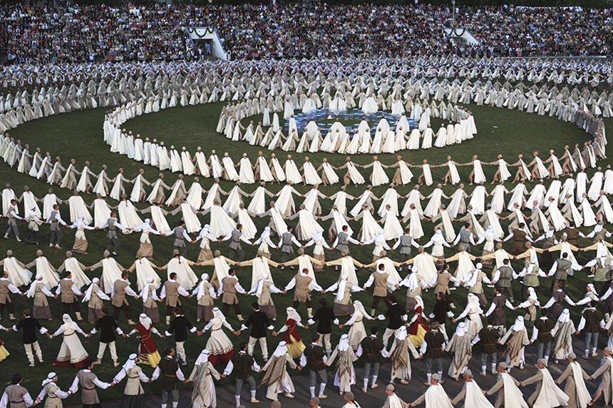 Šimtmečio Dainų šventė kviečia visą tautą švęsti laisvę