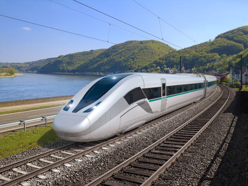 """Siemens"""" pristatė naujos kartos traukinius """"Velaro Novo"""", galinčius važiuoti 360 km/val. greičiu"""