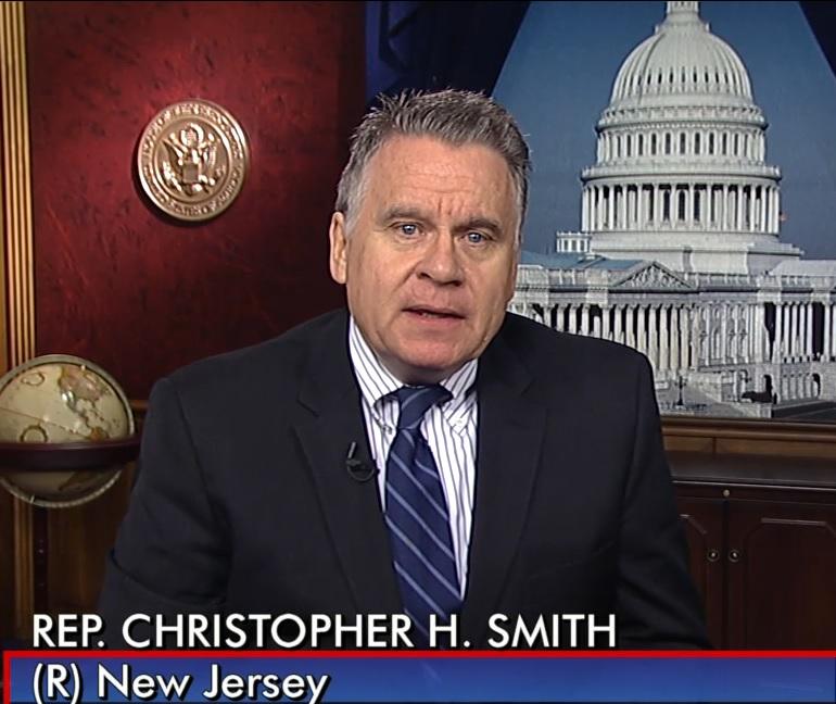 Kongresmenas Ch.Smith skubina įstatymo dėl Neringos Venckienės negražinimo Lietuvai priėmimą JAV Kongrese