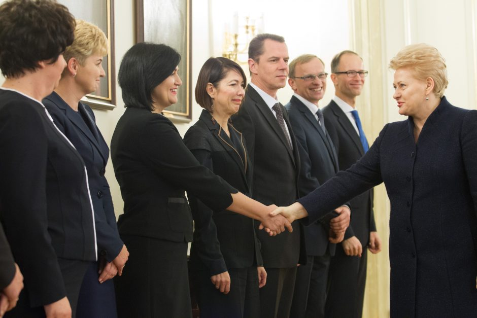 Tirti organizuotos teisėjų gaujos nusikaltimus Agnė Širinskienė siūlo STT
