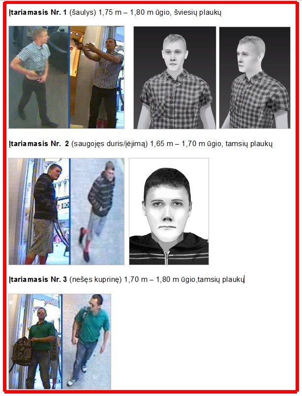 Vokietijos kriminalinės policijos pareigūnai prašo Lietuvos visuomenės pagalbos