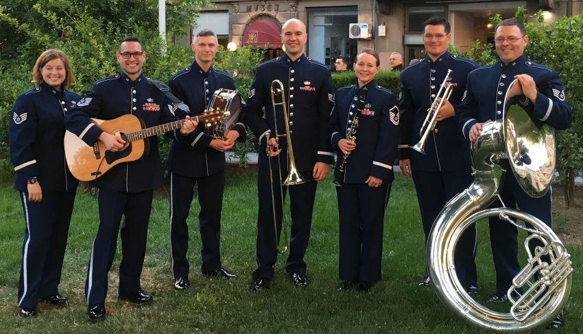 JAV karinių oro pajėgų Europoje grupė Wings of Dixie koncertuos net keturiuose Lietuvos miestuose