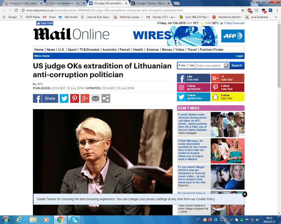 Viso pasaulio spauda rašo apie Lietuvą kaip pedofilų rojų