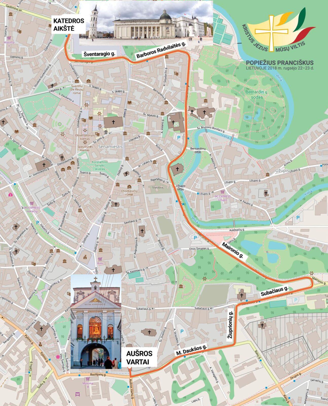 Baltijos kelio dieną – apie kelius, kuriuose Lietuvos žmonės sutiks popiežių Pranciškų