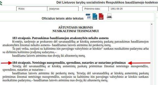 """Sovietmečiu buvo daugiau teisingumo nei """"laisvoje"""" Lietuvoje"""