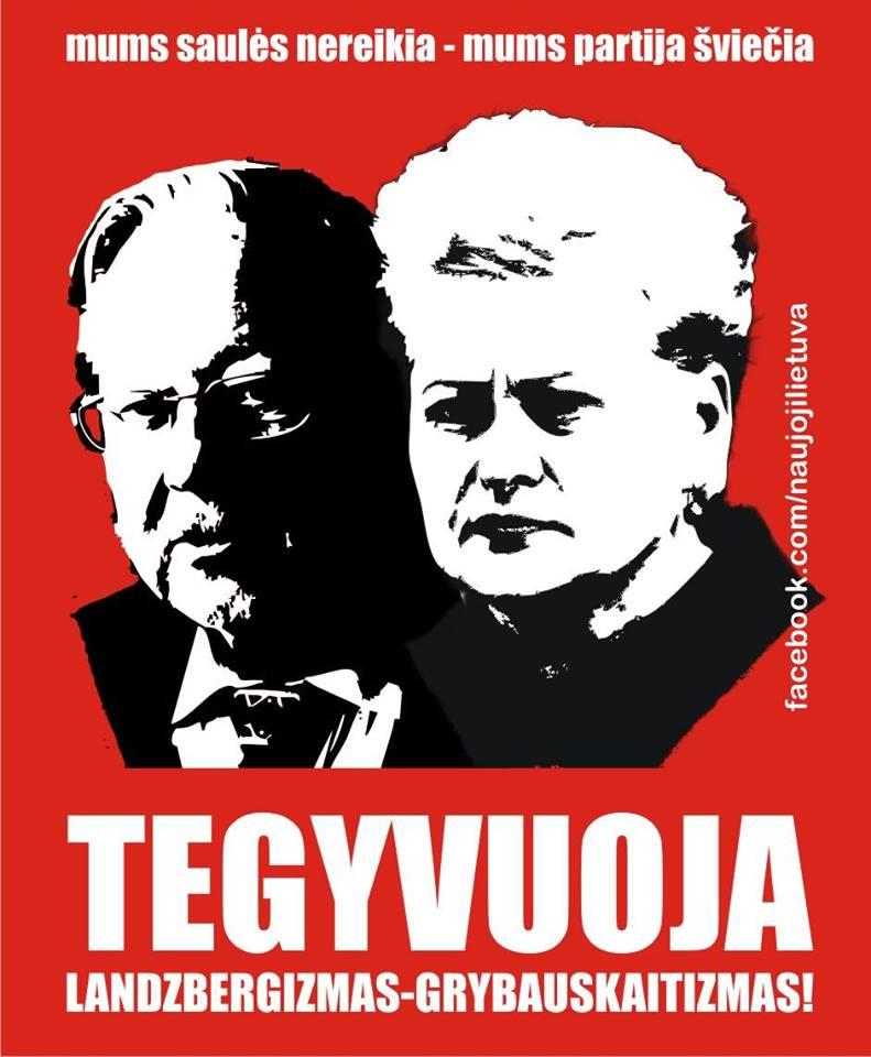 Latviai darė viską priešingai, nei D.Grybauskaitė ir A.Kubilius