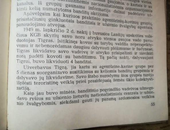 """Atsiprašome """"Tigro"""" Juozo Jakavonio"""