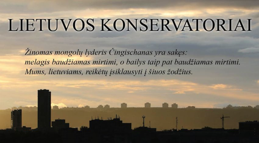 Kuriama Lietuvos konservatorių partija