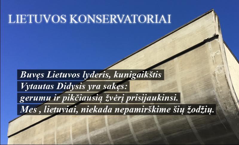 Lietuvos konservatorių atsakymai į portalo alfa.lt žurnalisto Viliaus Petkausko klausimus